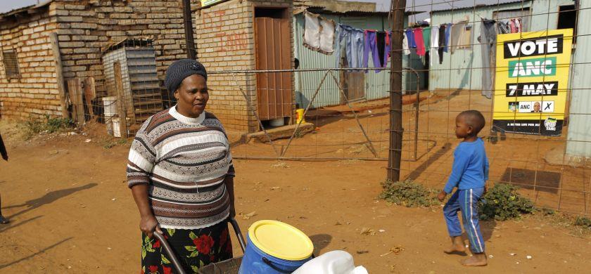 Zuid-Afrikaan levend verbrand