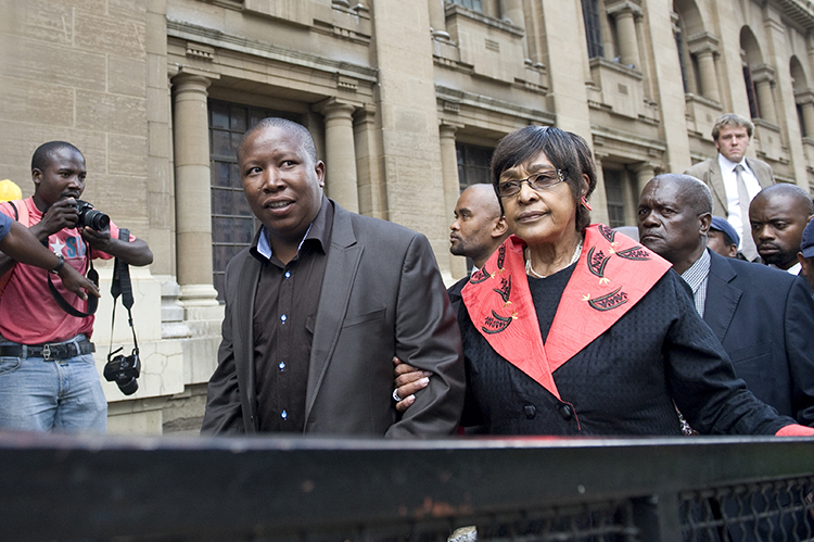 Malema must achieve what he is fighting for – Winnie
