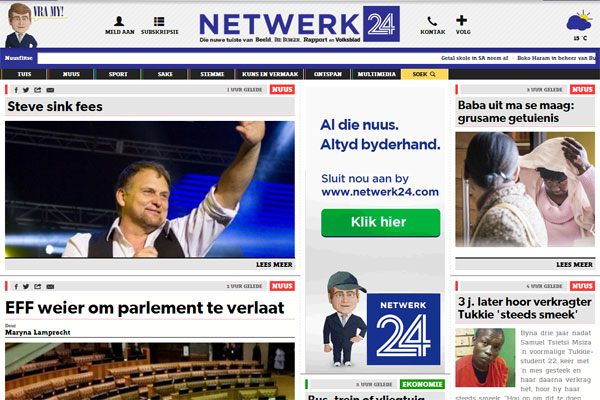 New Afrikaans news website launched