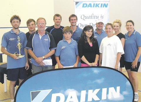 Pahl and Rowett win Daikin Open titles