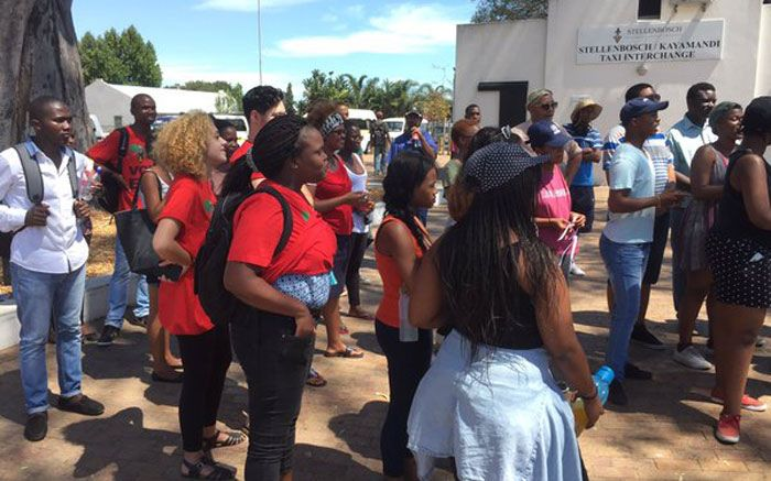 Tensions rise at Stellies between EFF & AfriForum students