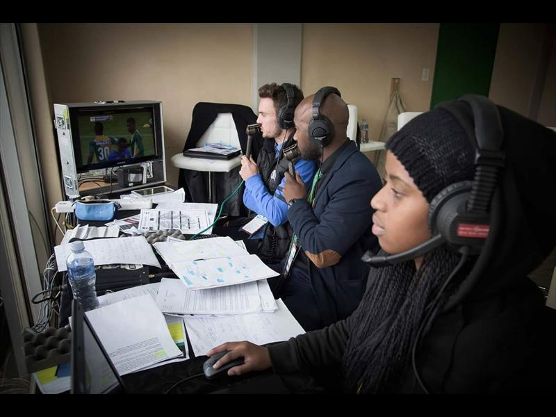 Afrikaans Zulu Boytjie in the game to become soccer commentator