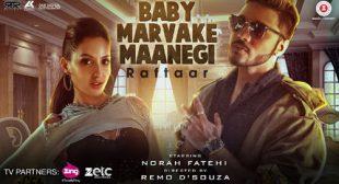 Baby Marvake Maanegi by Raftaar
