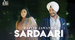 Rajvir Jawanda Song Sardaari