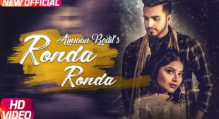 Armaan Bedil Song Ronda Ronda is Out Now