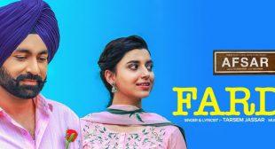 Farda Song – Tarsem Jassar