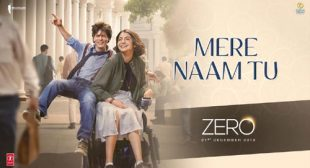 Zero Song Mere Naam Tu is Released
