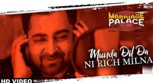 Munda Dil Da Ni Rich Milna Lyrics