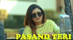 Anmol Gagan Maan's New Song Pasand Teri