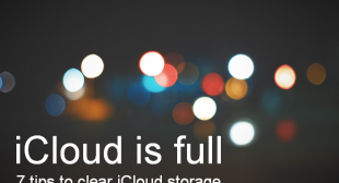 How to reduce emails and texts storage space in iCloud