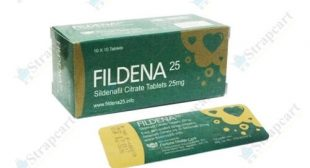 Fildena 25mg : Reviews, Directions, Side effects, Dosage | Strapcart
