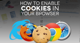 How to Enable Cookies in Most Common Web Browsers