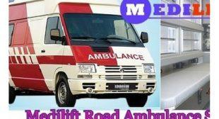 Avail Emergency Road Ambulance Service in Ranchi by Medilift Ambulance