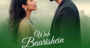 WOH BAARISHEIN LYRICS—ARJUN KANUNGO Feat. Shriya Pilgaonkar
