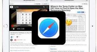 How To Split Screen In Safari on iPad?