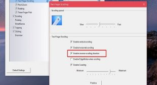 How to Reverse the Scrolling Direction in Windows 10