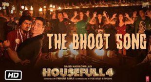Bhoot Song Lyrics from Housefull 4