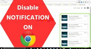 How to Turn Off Google Chrome Notifications?