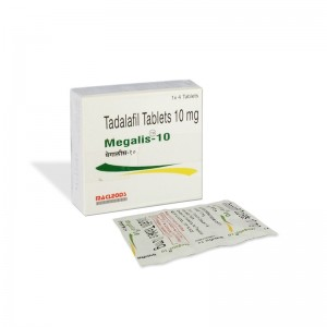 Buy Megalis 10mg Tablet Online – Usage, Dosage, Side Effects, Interactions, Reviews and Price