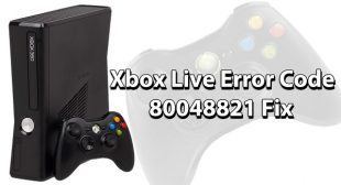 How to Fix Error 80048821 in Xbox Live Sign in – Norton Setup