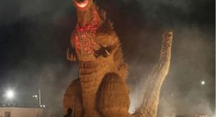 Godzilla is Afraid of One Thing: Basketball