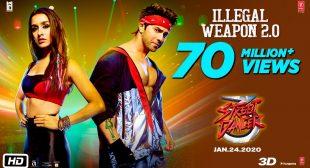 Illegal Weapon 2.0 lyrics in hindi | Street Dancer 3D | Varun Dhavan, Shraddha Kapoor