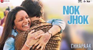 Nok Jhok Song lyrics  Chhapaak  Deepika Padukone
