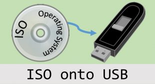 How to Burn an ISO Image to a USB Drive