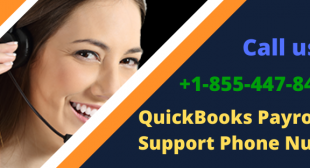 QuickBooks Payroll Support Phone Number   #1-855-447-8429