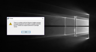 How to Fix iTunes Error -54 on Windows 10?
