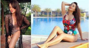 ACTRESS MINISSHA LAMBA LEAVES INTERNET DROOLING AS SHE TREATS HER FANS WITH BIKINI PICTURES