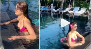 URVASHI RAUTELA MISSES TAKING A DIP AND PLAY IN THE BLUES, SHARES HER THROWBACK BIKINI VIDEOS AND PICTURES