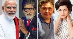 #NationalLockdown: From Amitabh Bachchan, Rishi Kapoor To Virat Kohli-Anushka Sharma, Celebs React To PM Modi's Decision