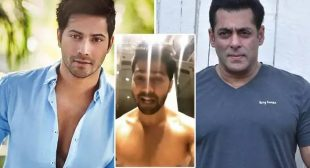 Varun Dhawan's Shirtless Moves To Salman Khan's Song Are Driving Away Our Mid-Week Blues!