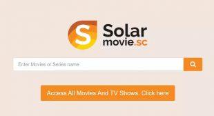 Solarmovie 2020 – Watch Latest Movies & TV Shows Online