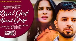 Raat Gayi Baat Gayi Lyrics – Happy Raikoti