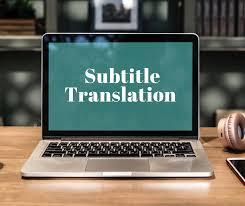 subtitling translation