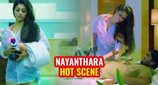 Watch Nayanthara's hot scene in wet white shirt from Arrambam – sexy South Indian actress setting screen on fire.