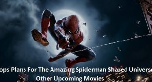 Sony Drops Plans For The Amazing Spiderman Shared Universe; Lists Other Upcoming Movies
