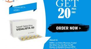 Vidalista 20   Buy Vidalista 20mg 33% Off   Reviews   EtiPills
