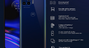 Everything You Want to Know About Motorola One 5G