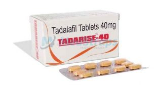 Tadarise 40 mg | Buy Tadalafil 40mg | Reviews, Side effects