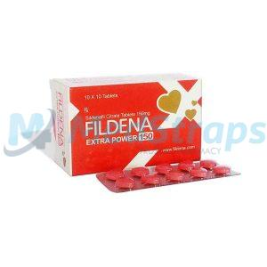 Fildena 150 mg | Sildenafil Citrate 150mg Tablet | Reviews