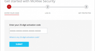 How Do I Activate My McAfee Product Key?