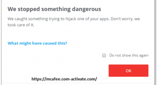 If McAfee Stops Detecting Malware! Www.Mcafee.com/activate