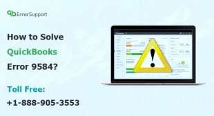 How to Solve QuickBooks Error 9584? | QBerrorssupport
